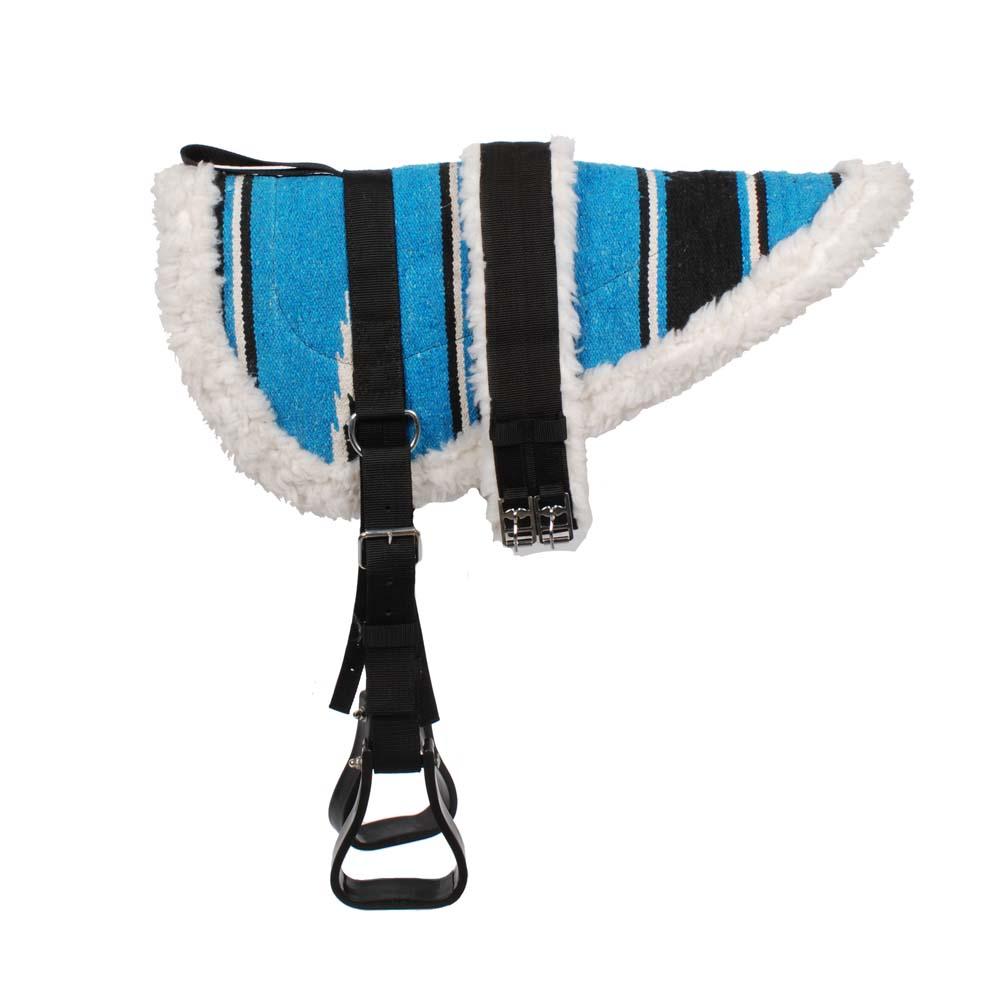 Pagony Bareback pad blauw