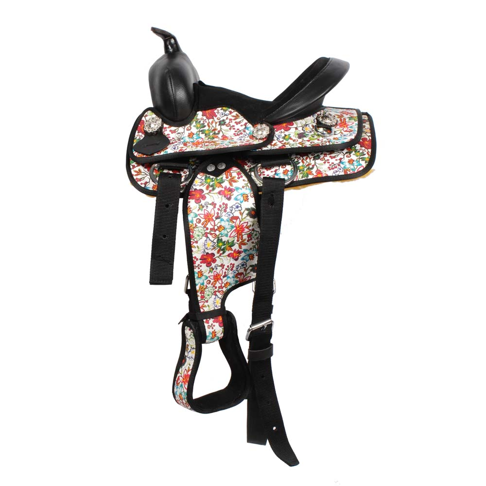 Pagony Cowgirl westernzadel wit maat:10