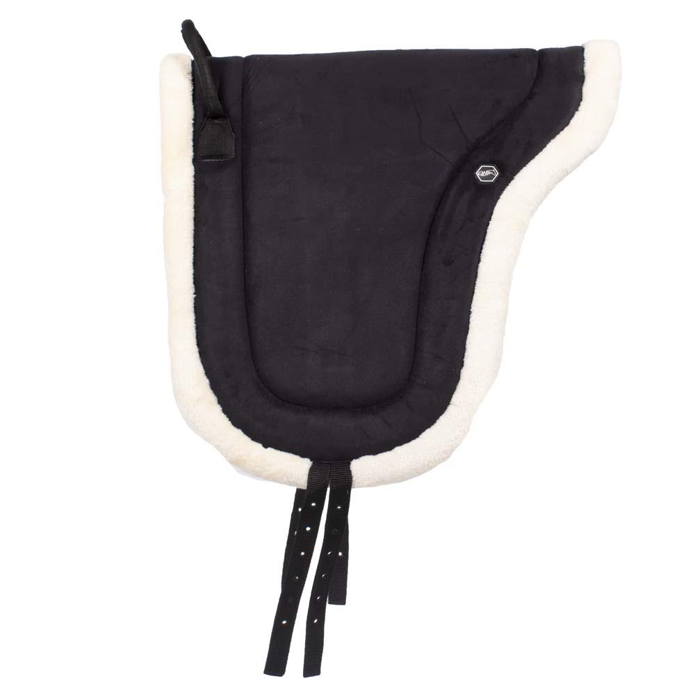 QHP Bareback pad zwart maat:pony