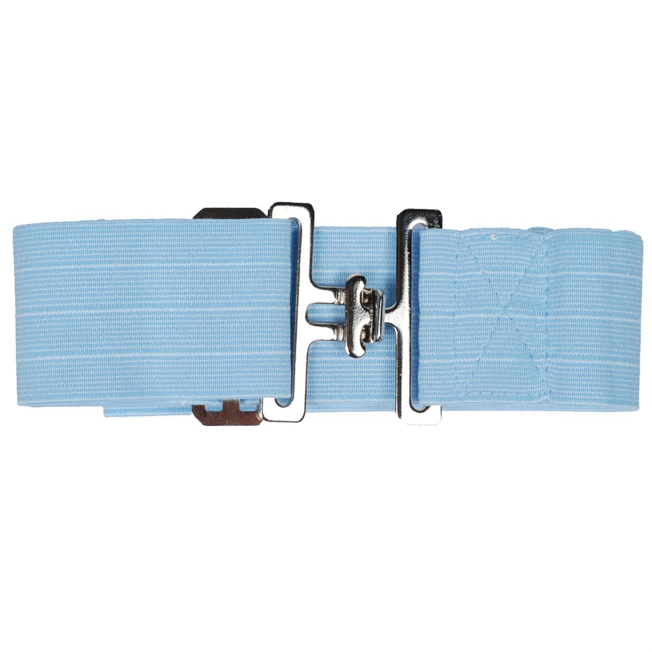 Dekensingel elastisch smal blauw