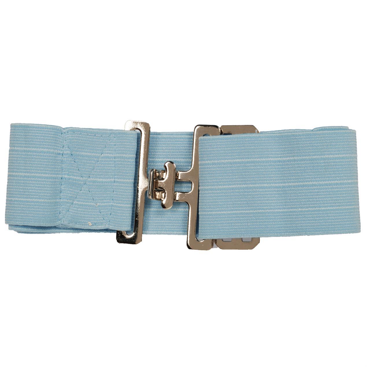 Pagony Elastische singel breed blauw