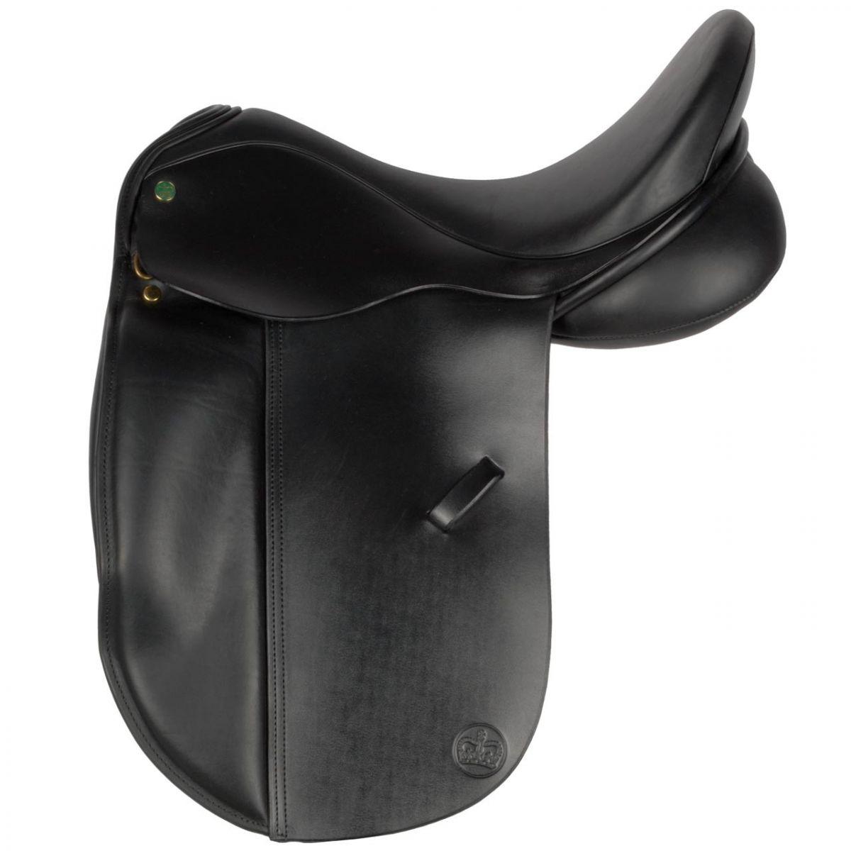 Ideal Suzannah dressuurzadel zwart maat:17.5 mw