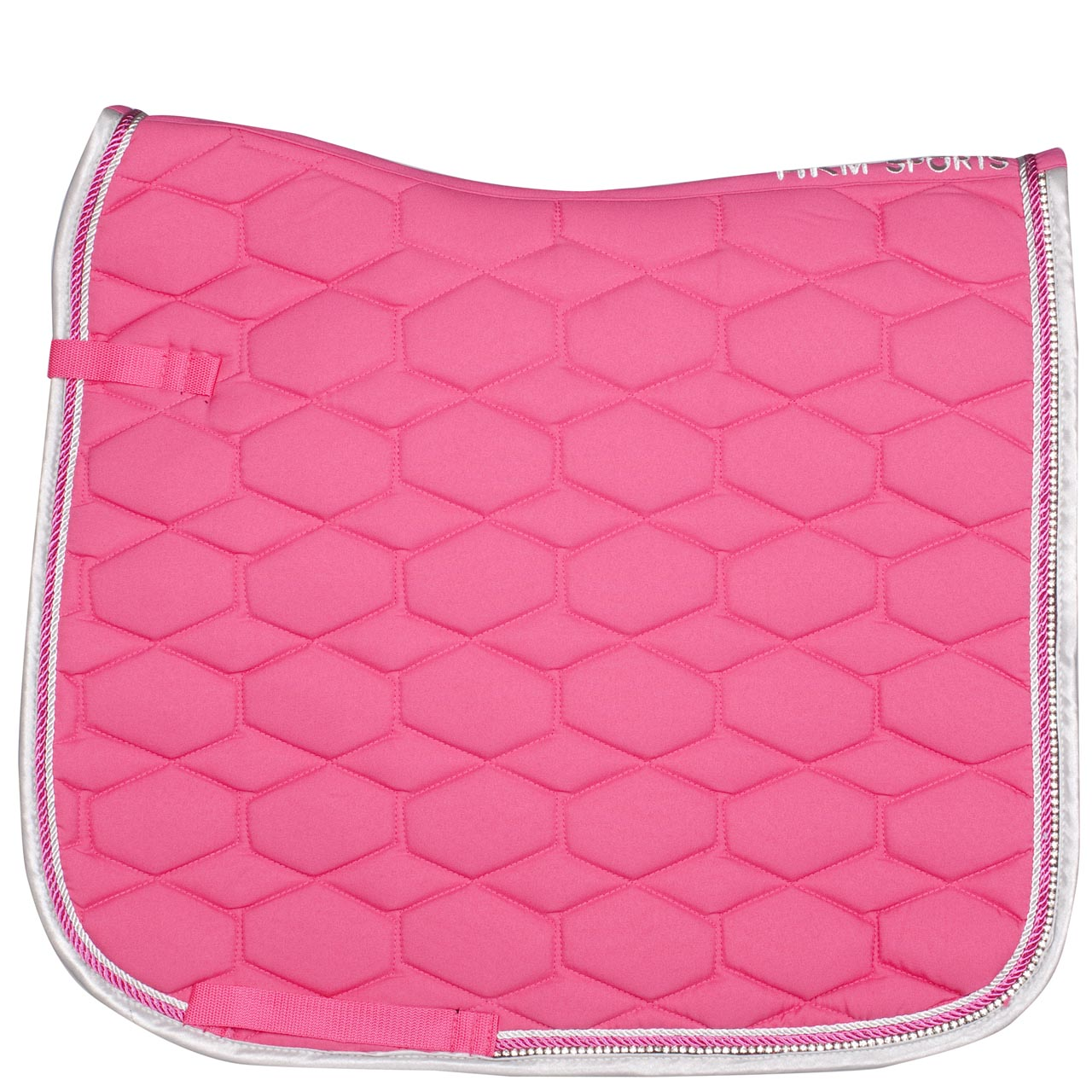 HKM Crystal Fashion zadeldek roze maat:vs full