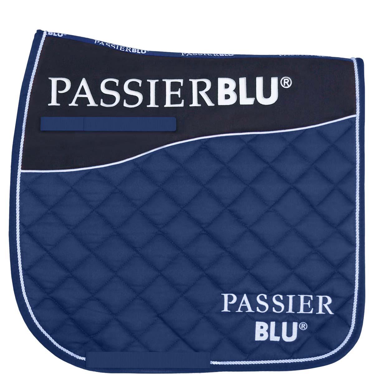 Passier BLU zadeldek blauw maat:dr full