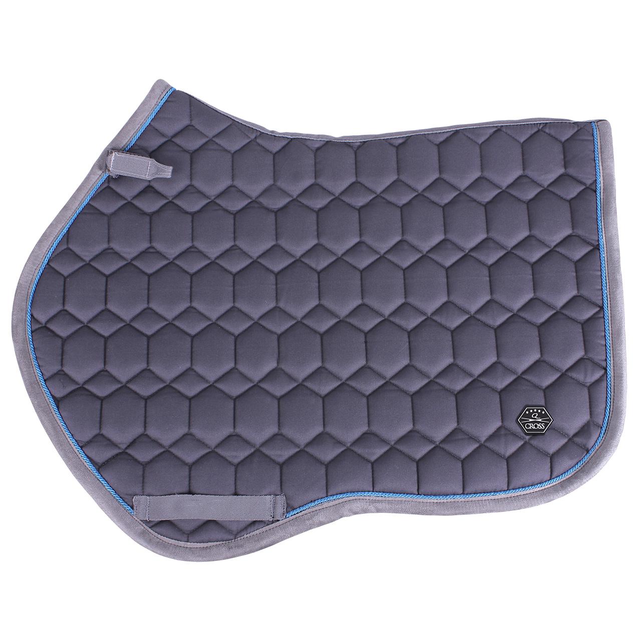 QHP QCross Eldorado zadeldek grijs maat:vs full
