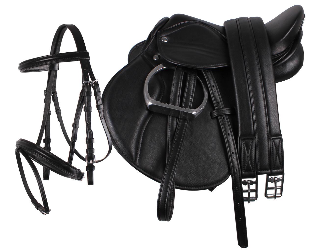 QHP Color Oornetje zwart maat:pony