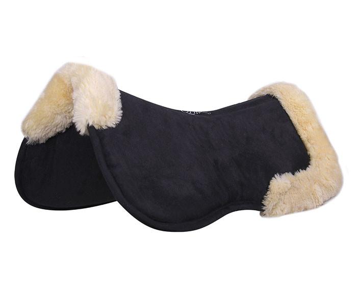QHP Ontario Memory foam pad zwart maat:pony