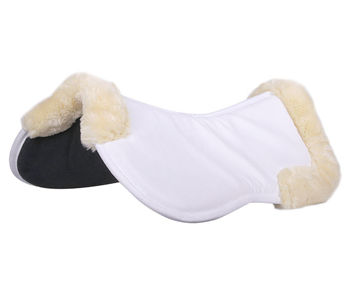 QHP Memory foam pad Ontario wit maat:pony