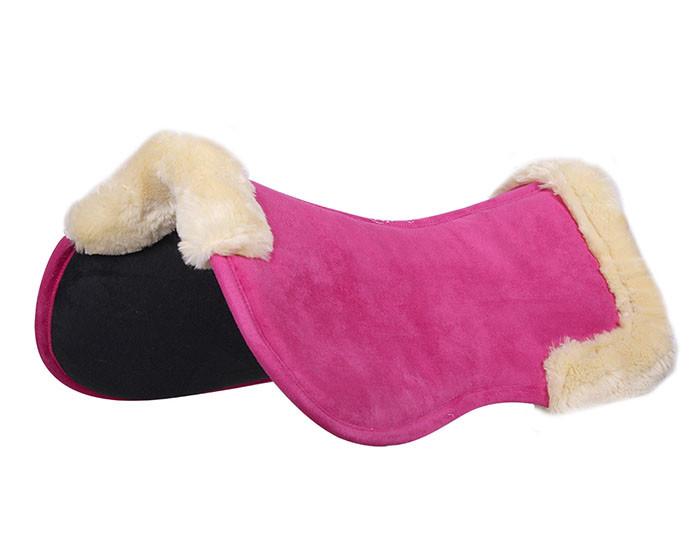 QHP Memory foam pad Ontario fuchsia maat:pony