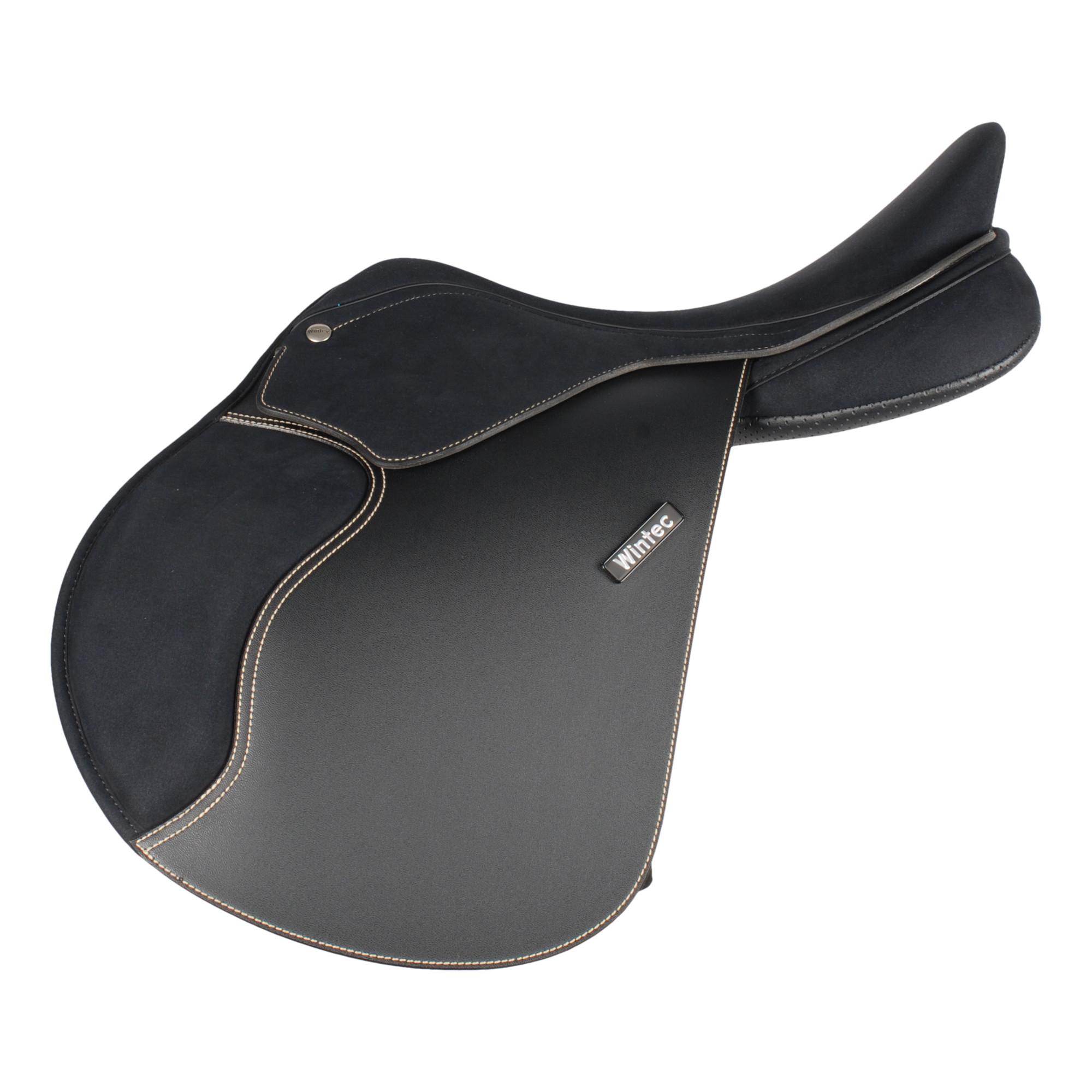 Wintec 500 Pro Jump Pony zwart maat:16