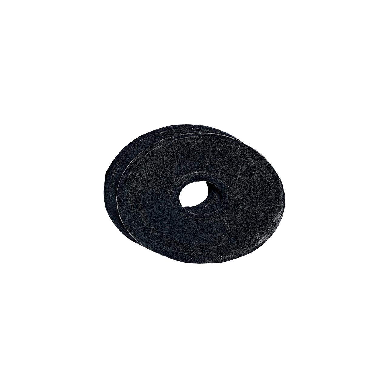 Bitringen groot rubber zwart