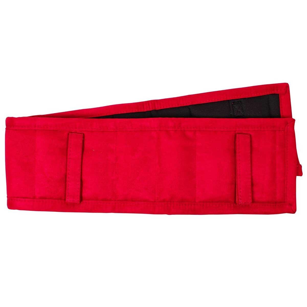 QHP Longeerpad rood maat:full