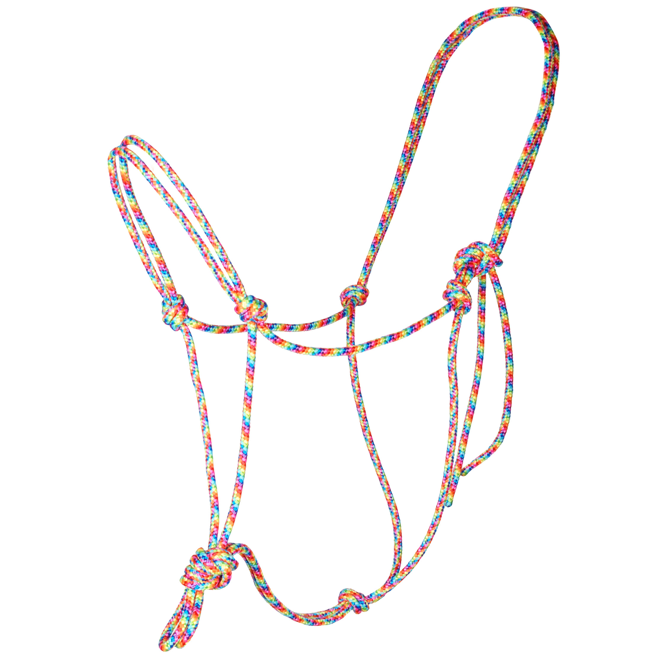 Horse Charms touwhalster multi maat:full