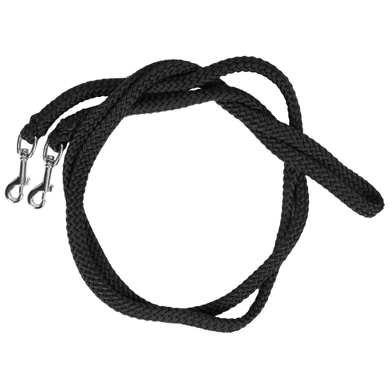 Horse Charms touwteugels zwart maat:m