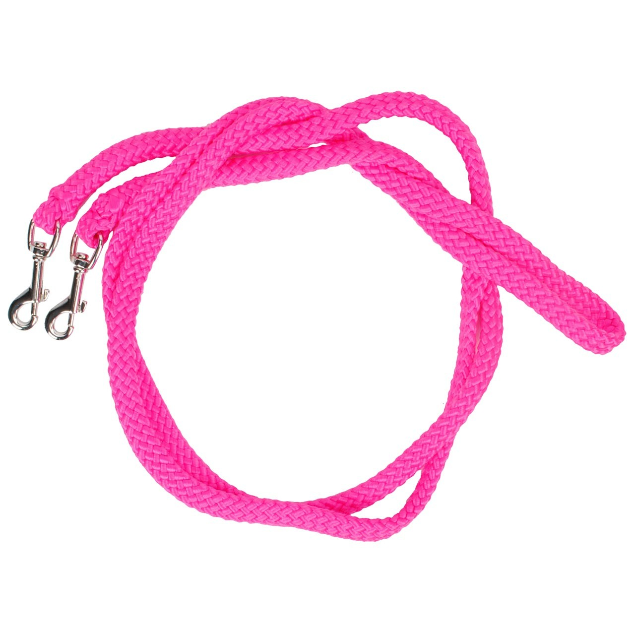 Horse Charms touwteugels fuchsia maat:s