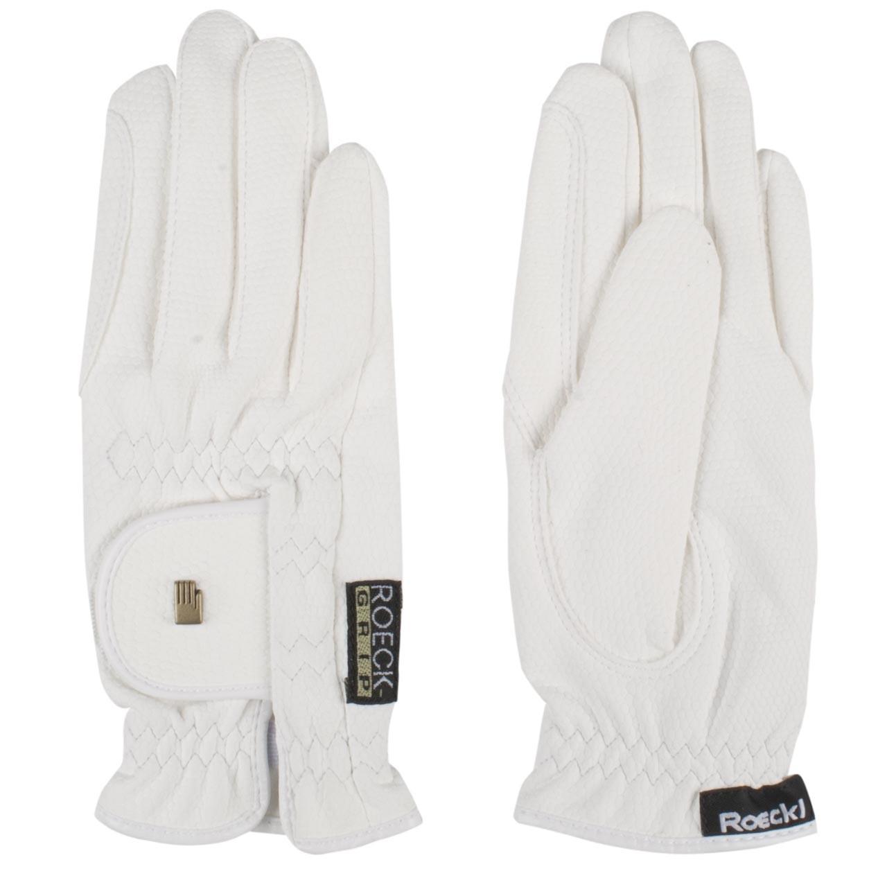 Roeckl RoeckGrip kinder handschoenen wit maat:4