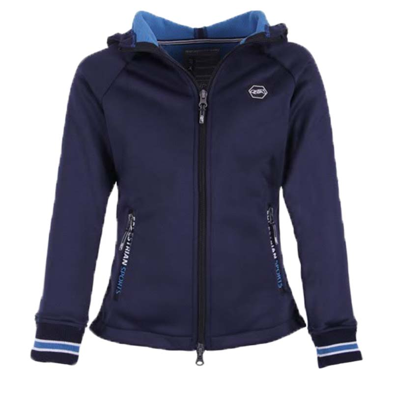 QHP Susy jr. sweat donkerblauw maat:140