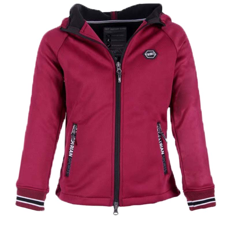 QHP Susy jr. sweat rood maat:140