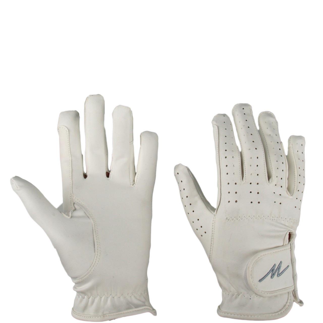 Mondoni Leatherfeel handschoen wit maat:7