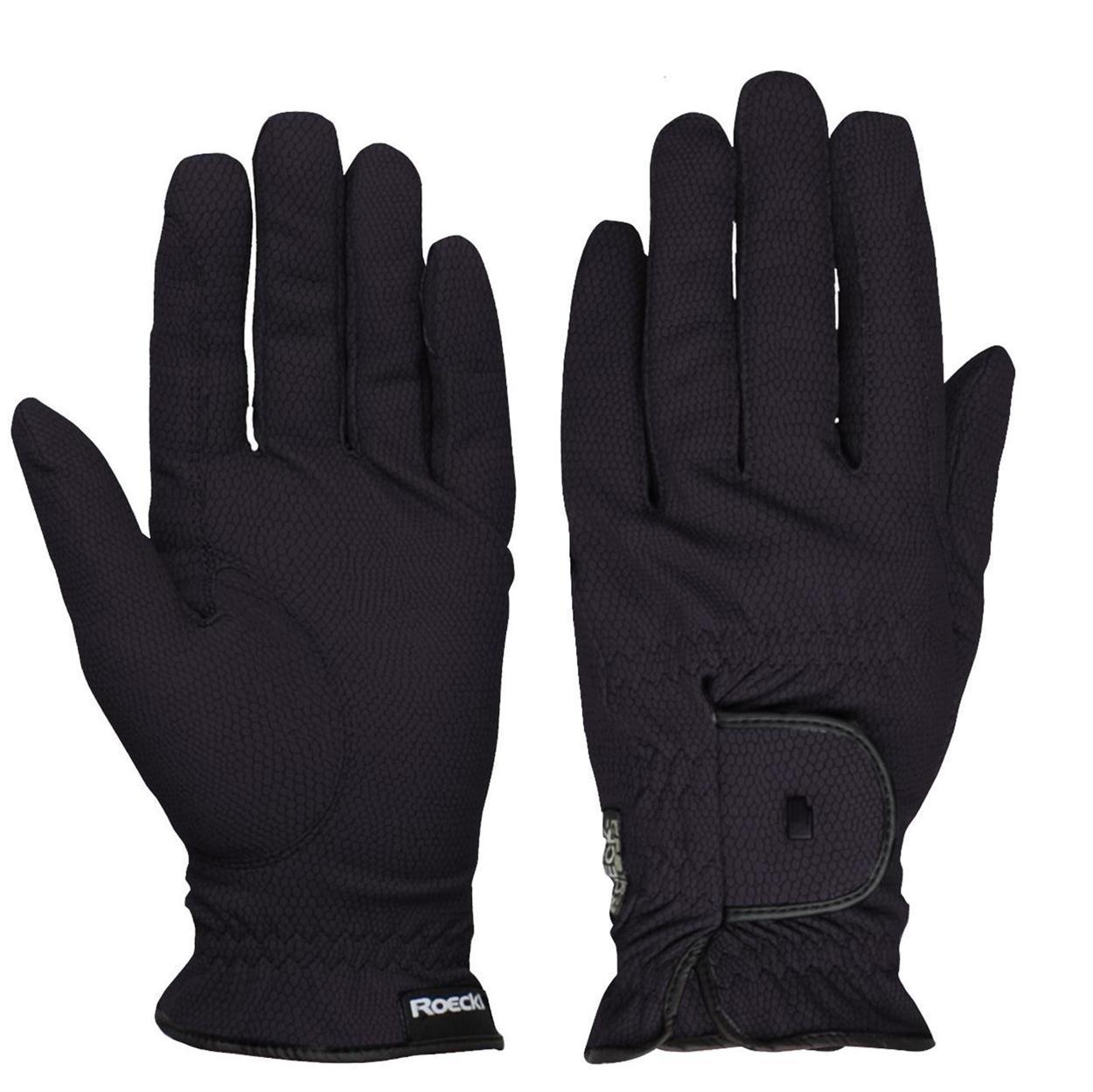 Roeckl Roeck grip Handschoen zwart maat:10,5