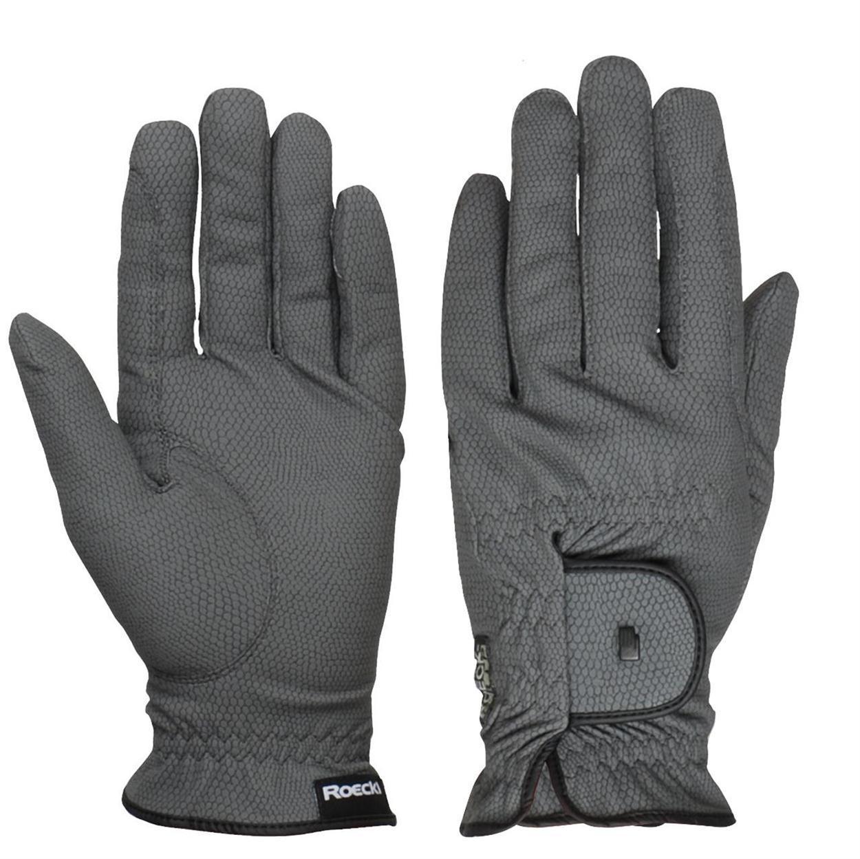 Roeckl Roeck grip Handschoen grijs maat:8,5