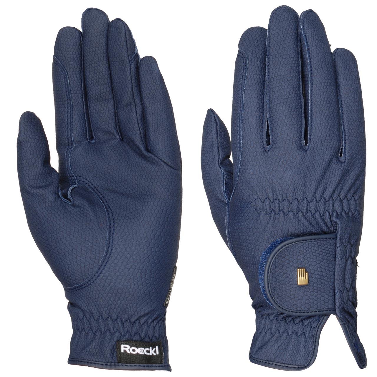 Roeckl Roeck grip Handschoen blauw maat:7,5