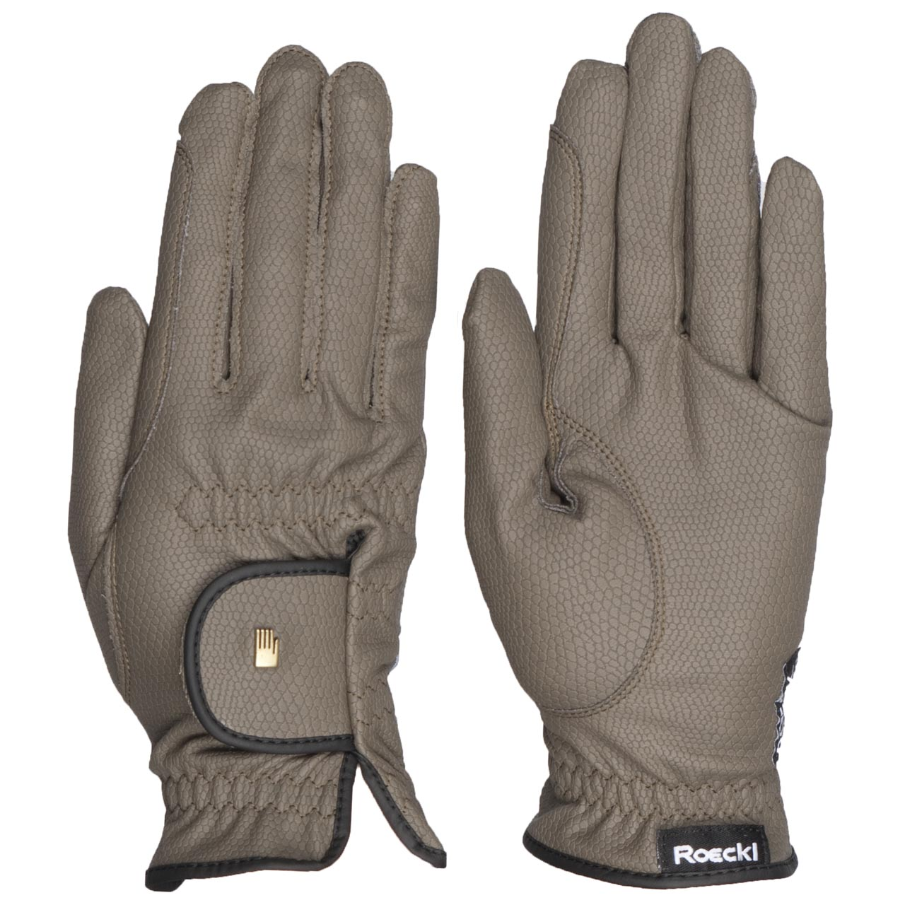 Roeckl Roeck grip Handschoen olijf maat:6