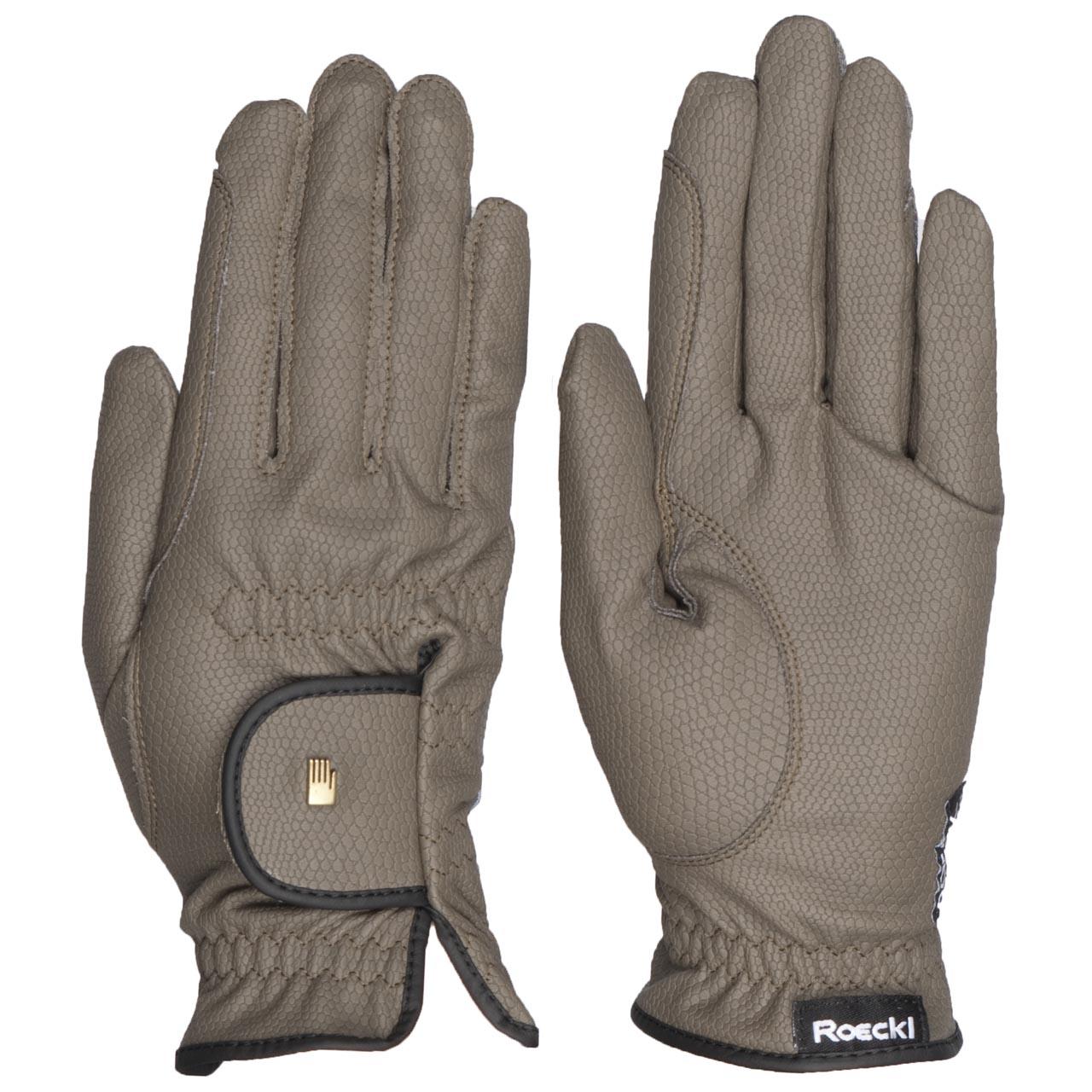 Roeckl Roeck grip Handschoen olijf maat:7,5