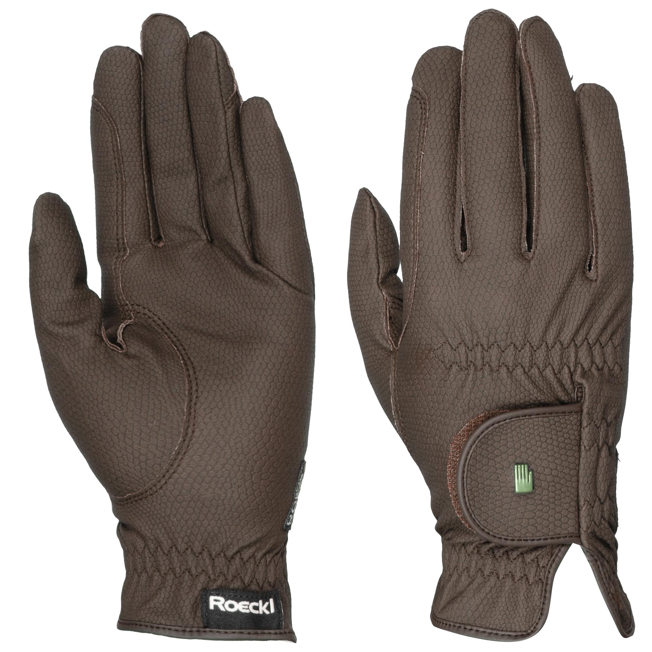 Roeckl Roeck grip Handschoen bruin maat:8,5