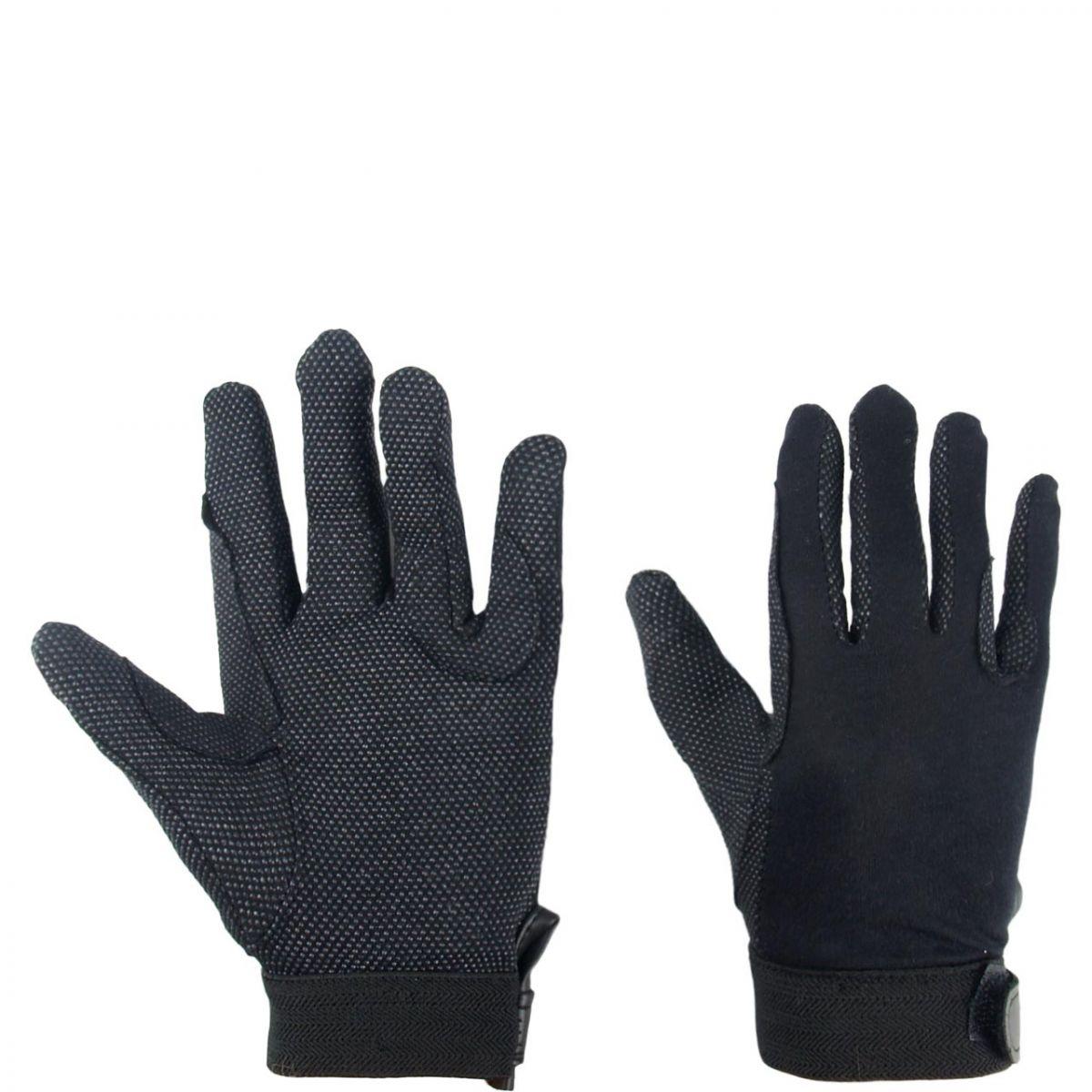 Mondoni Mini grip handschoen zwart maat:m