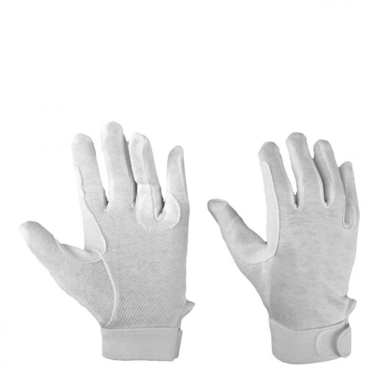 Mondoni Mini grip handschoen wit maat:l