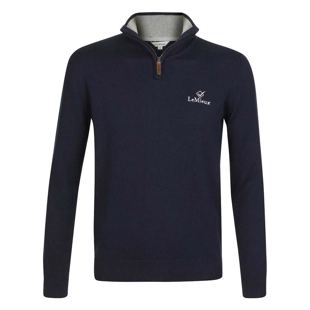 Le Mieux Monsieur trui donkerblauw maat:xl