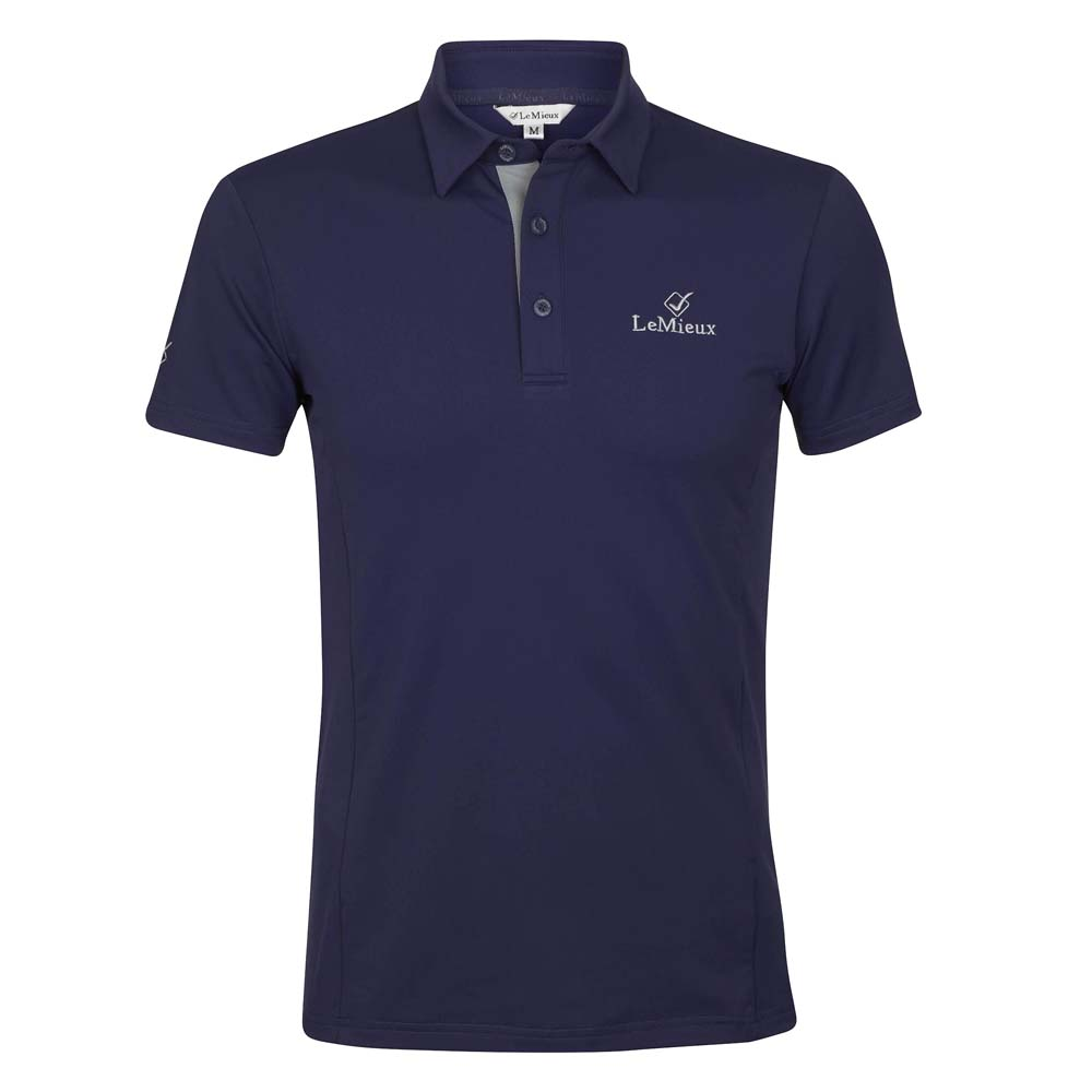 Le Mieux Monsieur Polo donkerblauw maat:xl