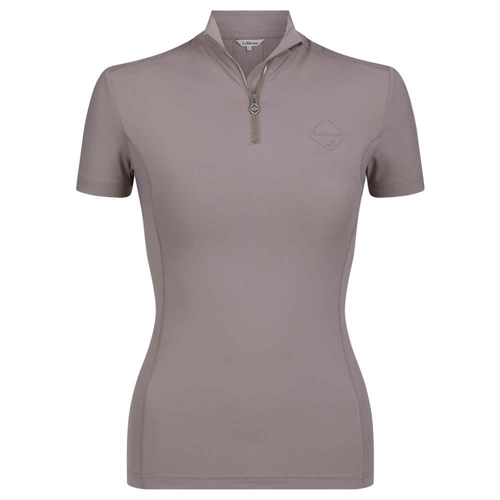 Le Mieux Base Layer short sleeve Techshirt roze maat:36