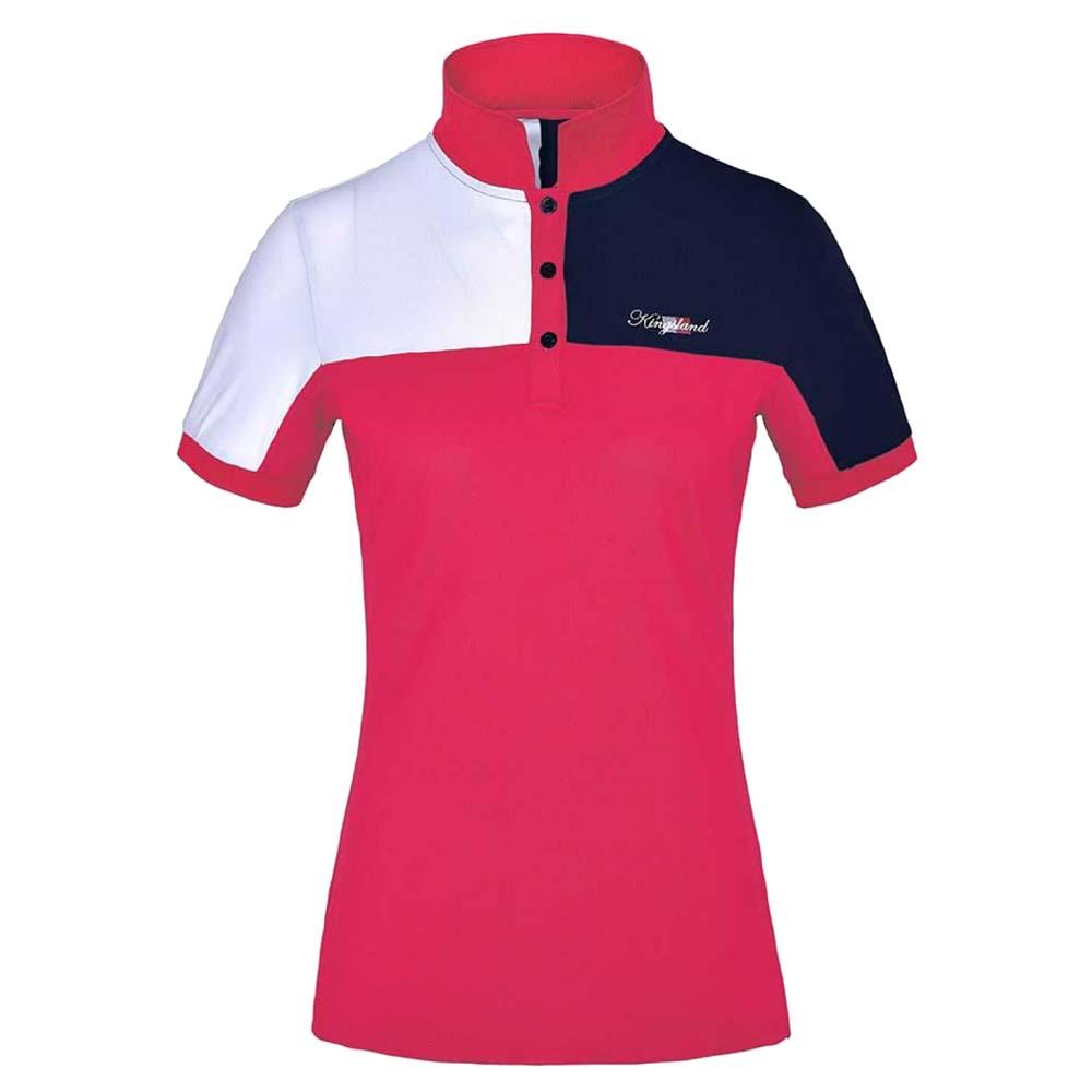 Kingsland Janey Polo roze maat:xs