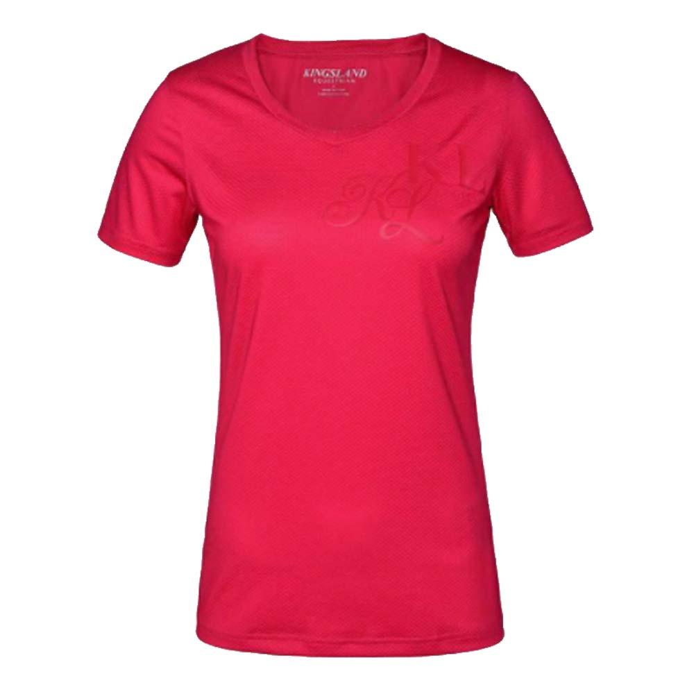 Kingsland Janisi Techshirt roze maat:l
