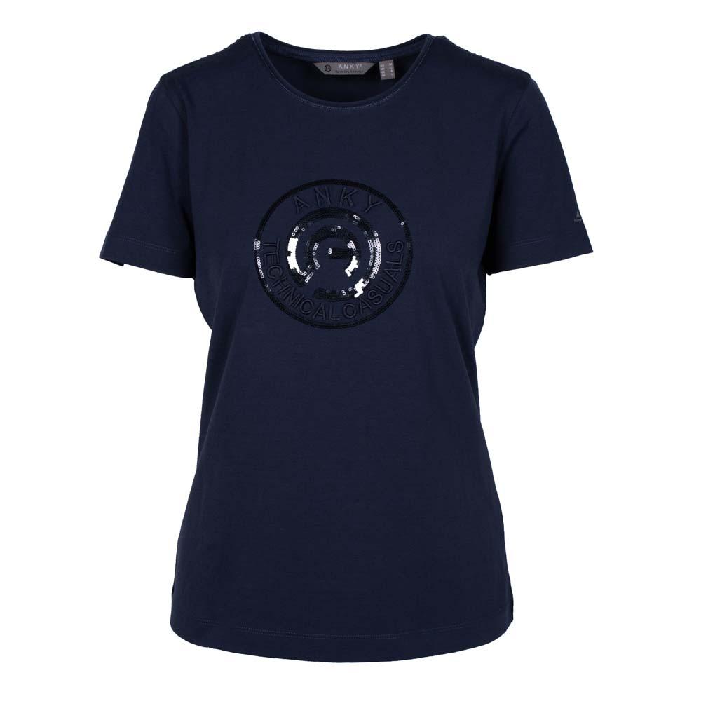 ANKY T-Shirt Logo ATC211302 donkerblauw maat:m