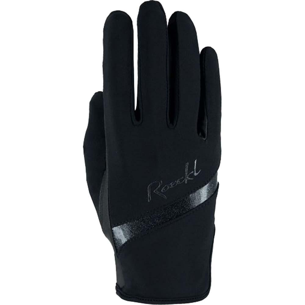 Roeckl Lorraine Handschoen zwart maat:7,5