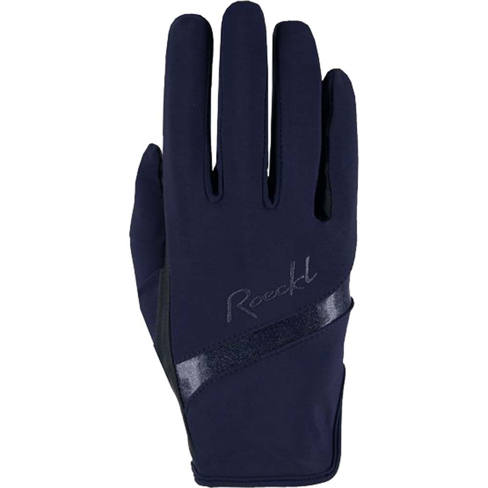 Roeckl Lorraine Handschoen donkerblauw maat:8