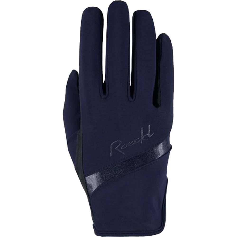Roeckl Lorraine Handschoen donkerblauw maat:8,5
