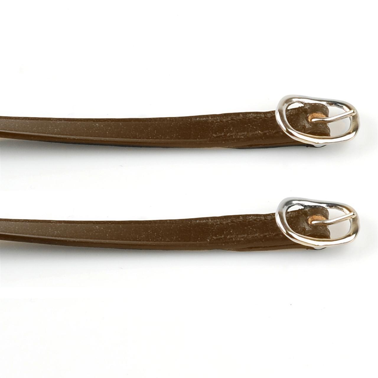 Pagony basic leder sporenriemen bruin