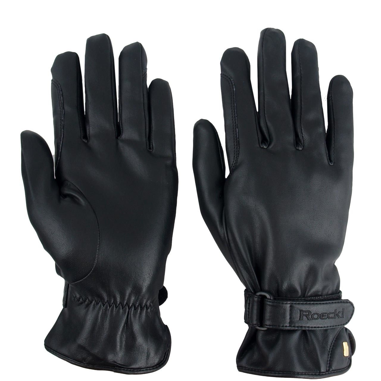 Roeckl Wago winter zwart maat:9,5