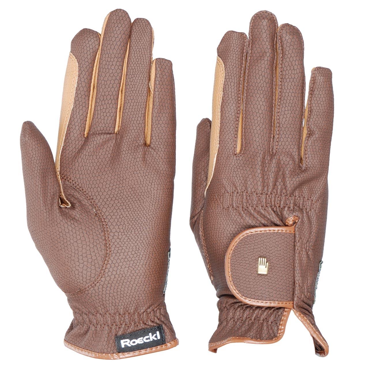 Roeckl Malta grip handschoen bruin maat:7