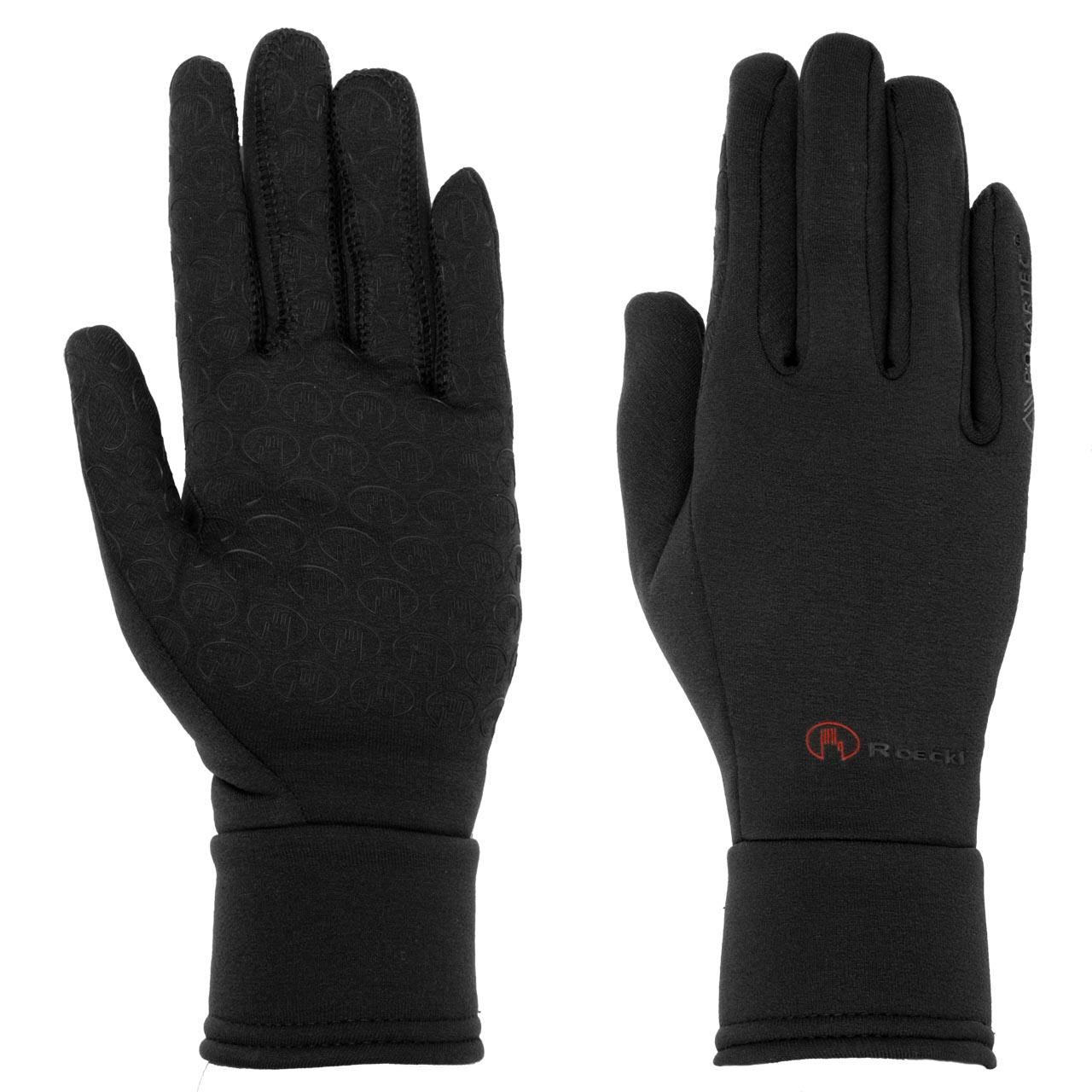 Roeckl Warwick handschoenen zwart maat:6