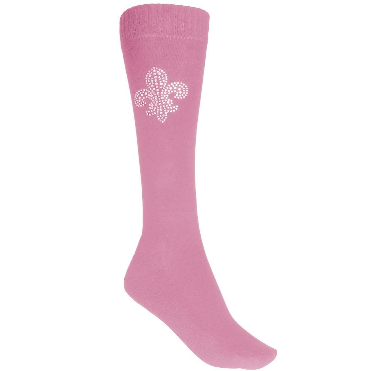 Esperado Lelie kniekous roze maat:39-42