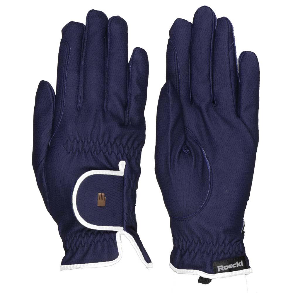Roeckl Lona handschoenen blauw maat:8