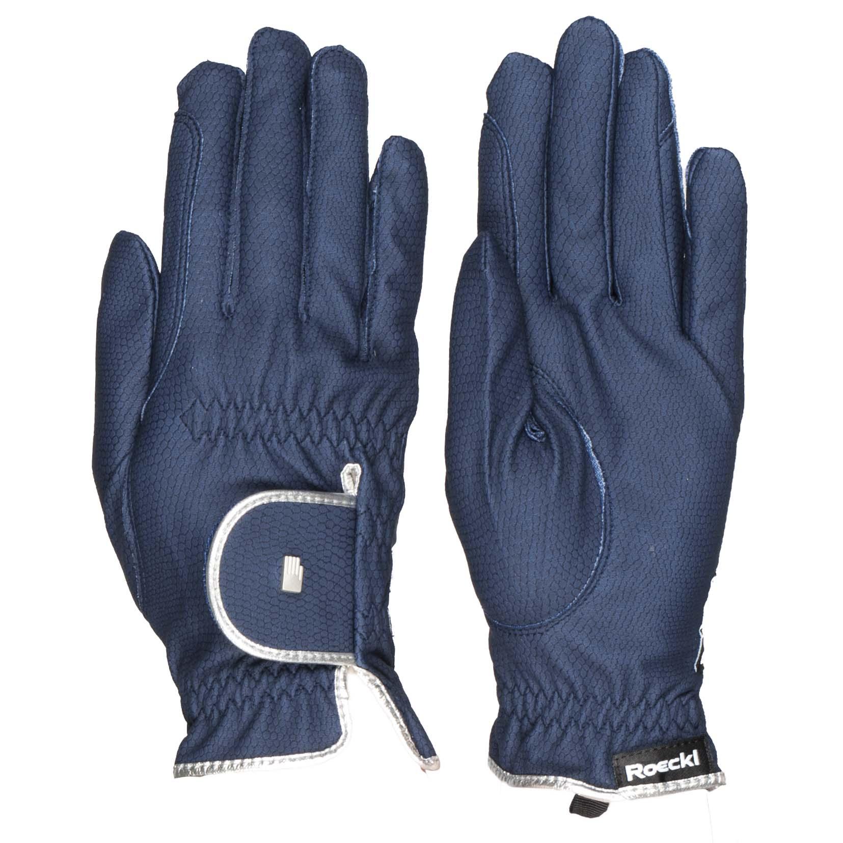 Roeckl Lona handschoenen donkerblauw maat:6