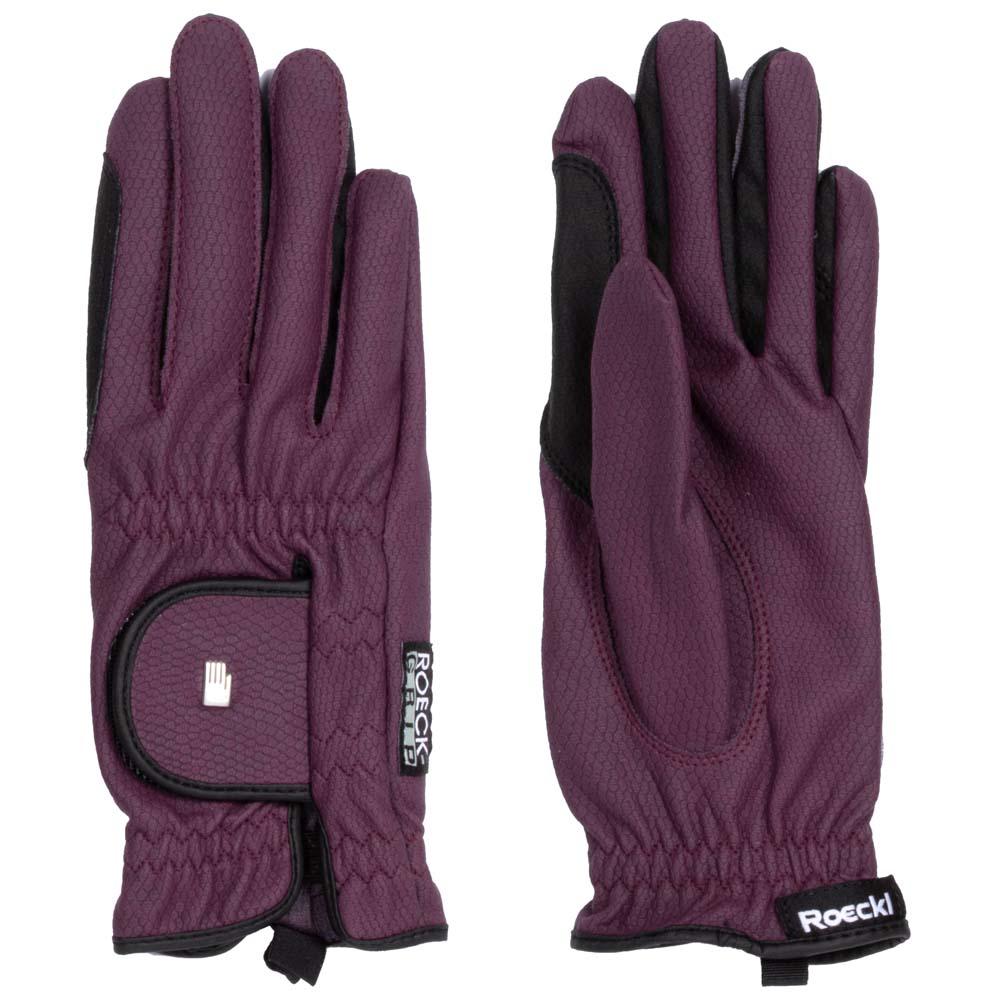 Roeckl Lona handschoenen paars maat:8