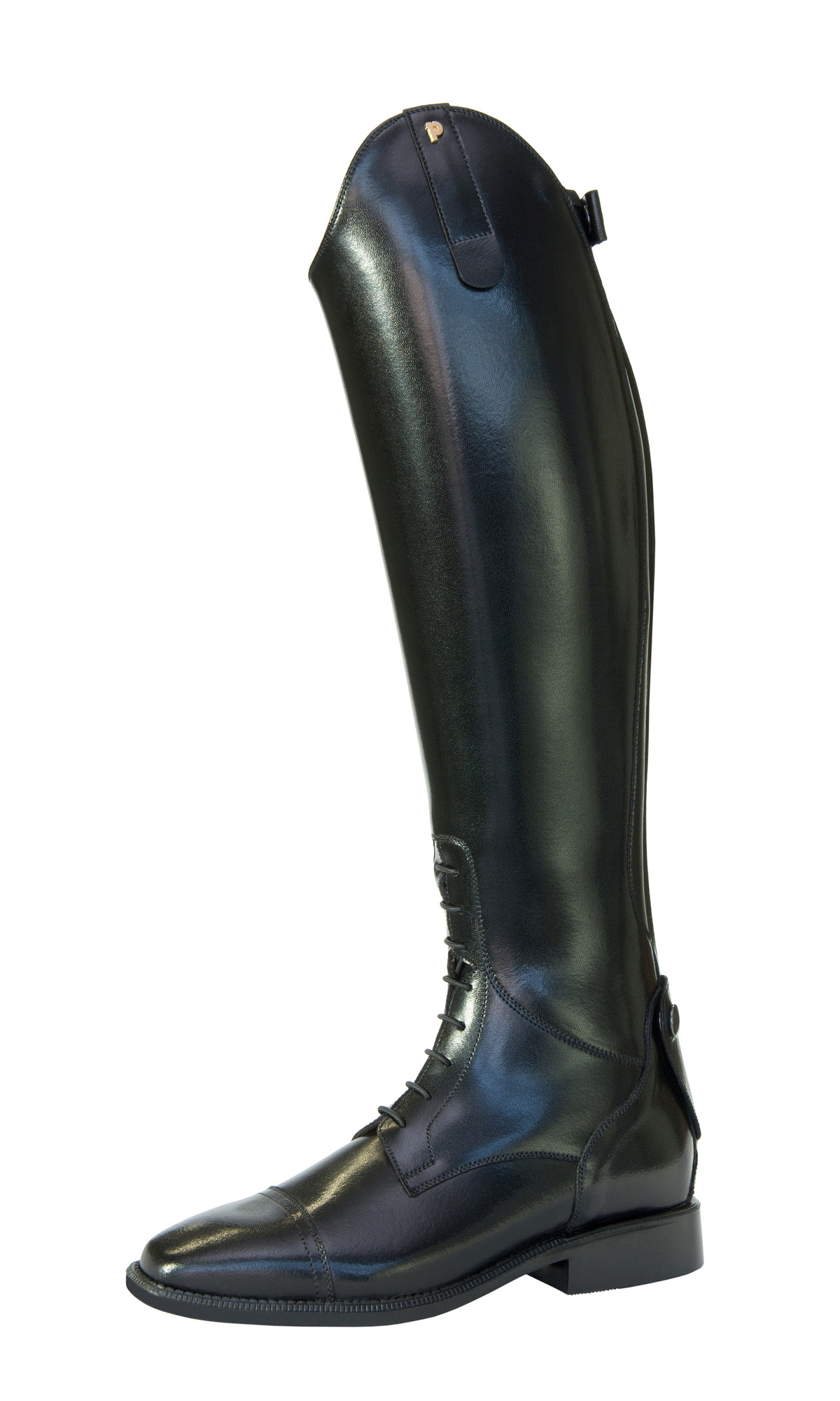 Petrie Melbourne rijlaars zwart maat:6,5xw