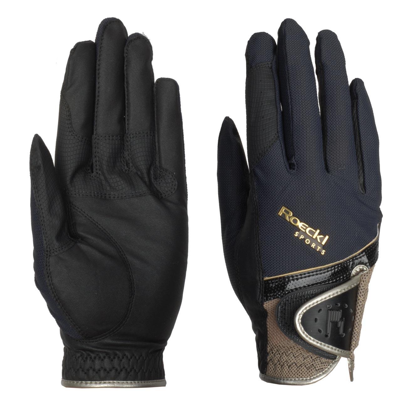 Roeckl Madrid handschoenen zwart maat:9